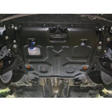 Защита картера и КПП Honda Accord IX 2013- сталь 2мм