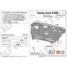 Защита картера и КПП Toyota Auris 2007-2012 сталь 2мм
