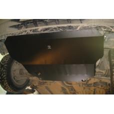 Защита картера и КПП Nissan Sunny B14 2WD 1994-1998 сталь 2мм
