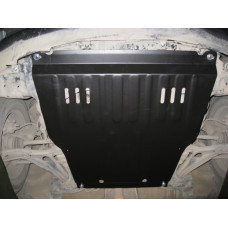 Защита картера и КПП Toyota Porte 2004- 4WD сталь 2мм