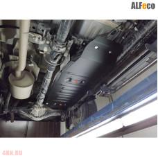 Защита топливного бака Toyota Hilux 2015- сталь 2мм