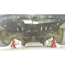 Защита картера и КПП Mitsubishi Colt — правый руль 2002 - 2012 сталь 2мм