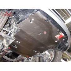 Защита картера и КПП Toyota Mark X задний привод, сталь 2мм